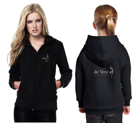 De Vere School of Dance Hoodies - $49.99 - Made to order allow 3-5 days for delivery- - - - - - - - - - - - - - - - -Add to Cart >